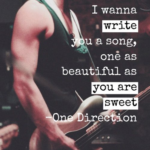 i want to write a love song for you