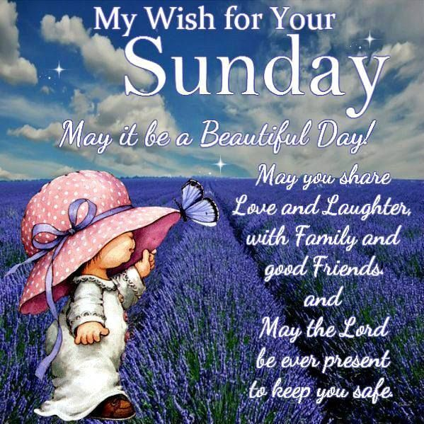 Good Morning And Happy Sunday Love Message : My wish for your sunday pictures photos and images