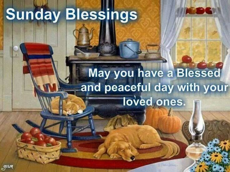 sunday blessings may you have a peaceful day pictures