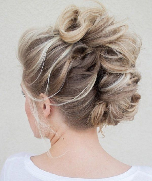 Tremendous Honey Blonde Braided Updo Pictures Photos And Images For Short Hairstyles For Black Women Fulllsitofus