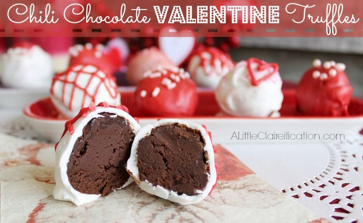 Chili Chocolate Valentine Truffles Pictures, Photos, and Images for ...