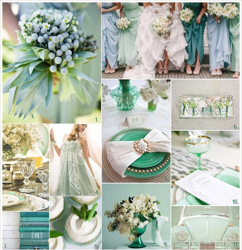 Mint Green Wedding Colors Pictures Photos And Images For