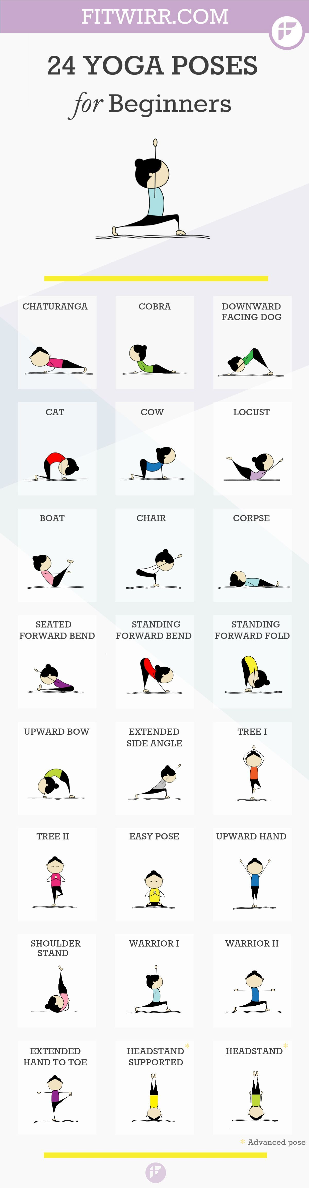24 Yoga Poses For Beginners Pictures, Photos, and Images ...