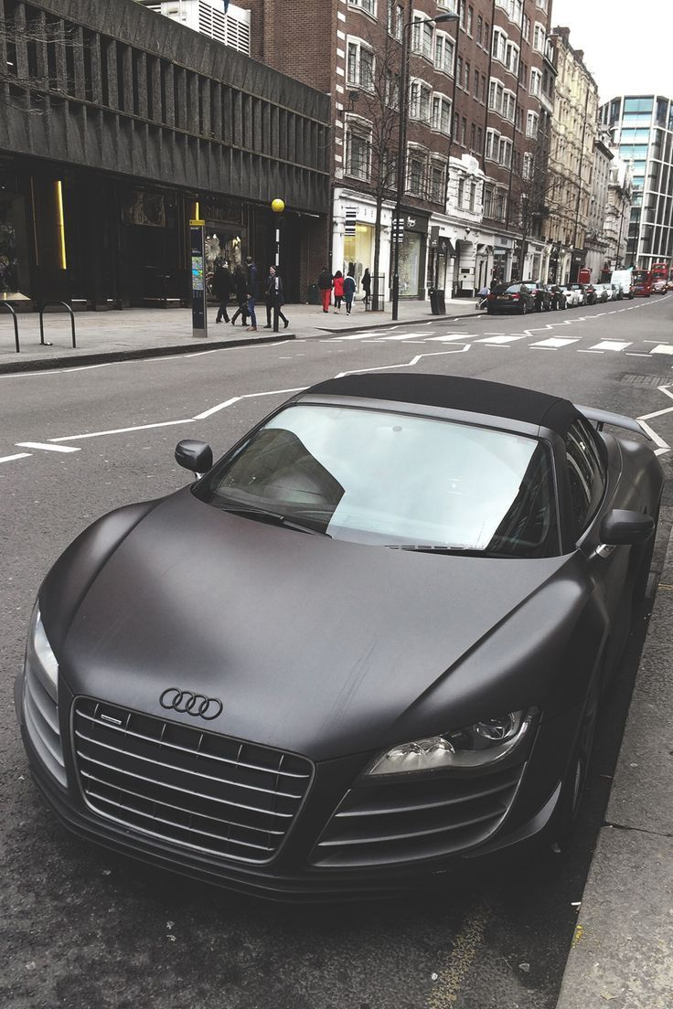 All Black Matte Audi Pictures Photos And Images For