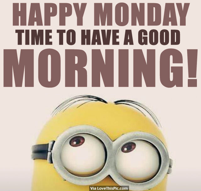 Happy Monday, Time To Have A Good Morning! Pictures, Photos, and ...