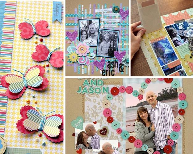 Elegant Photo Scrapbook Ideas Pinterest Selection Photo And