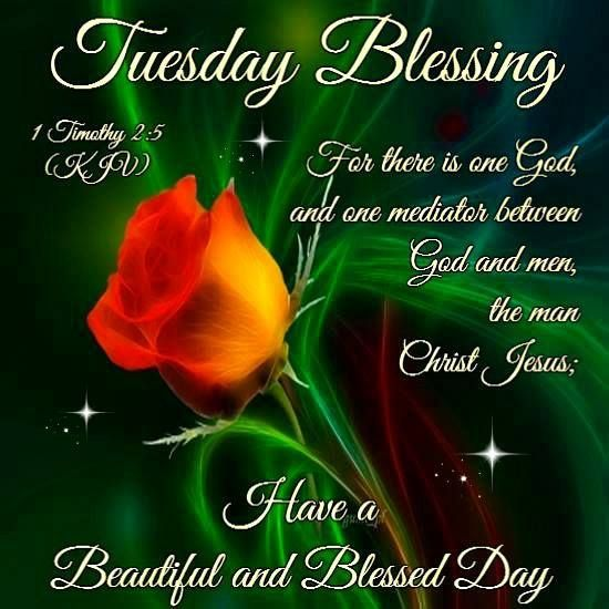 Blessed Day Quotes From The Bible: Tuesday Blessings, Have A Beautiful And Blessed Day