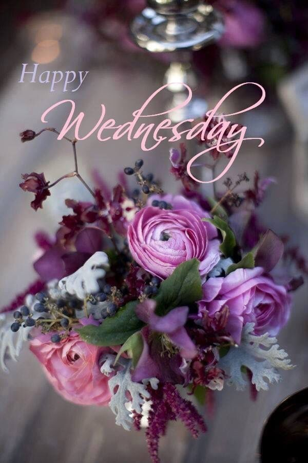 Top 100 Good Morning Happy Wednesday Flowers Images ... |Wednesday Flowers