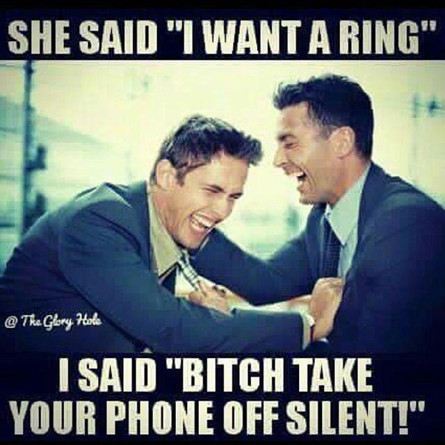 She Said I Want A Ring