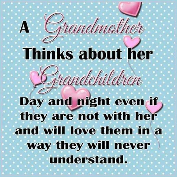 A Grandmother Thinks About Her Grandchildren Day And Night