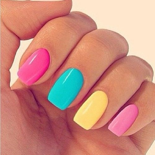 Colorful Pastel Nails Pictures, Photos, And Images For