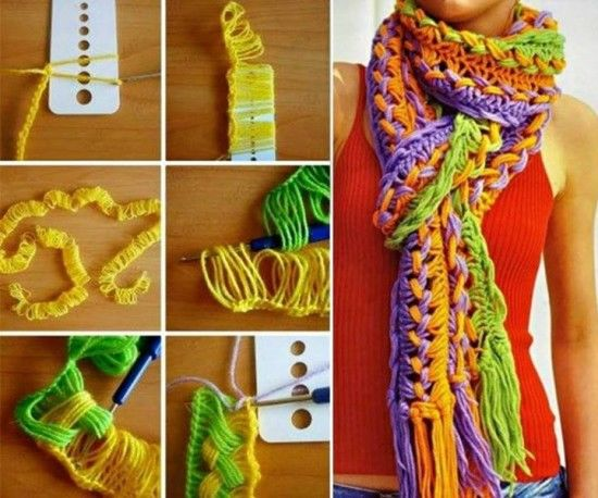 Crochet Hook Scarf Tutorial Pictures Photos And Images For