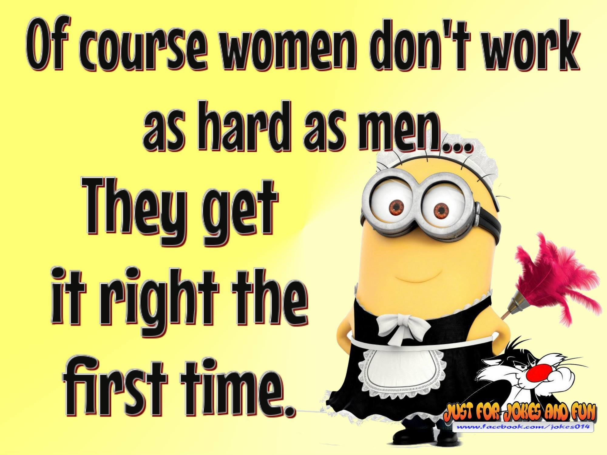 Women Dpnt Work As Hard As Men Because They Get It Right ...