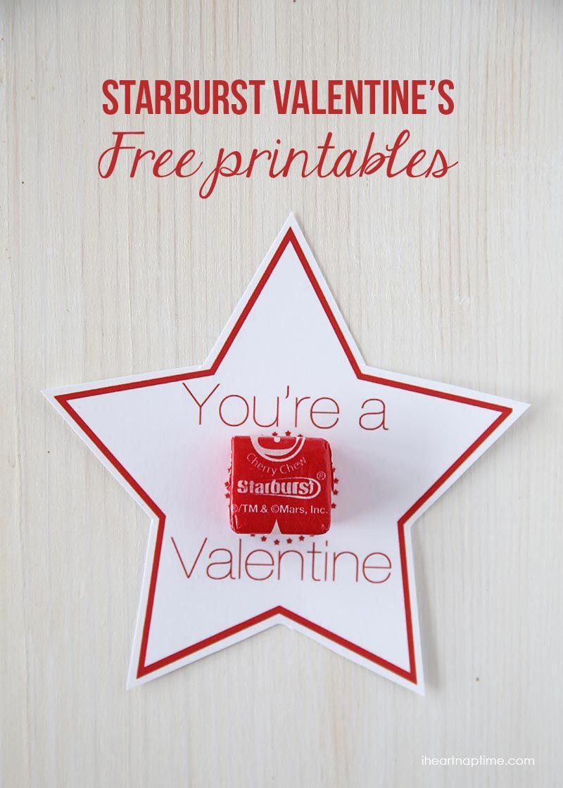 picture regarding Starburst Valentine Printable known as Starburst Valentines Printable Pics, Pics, and Illustrations or photos