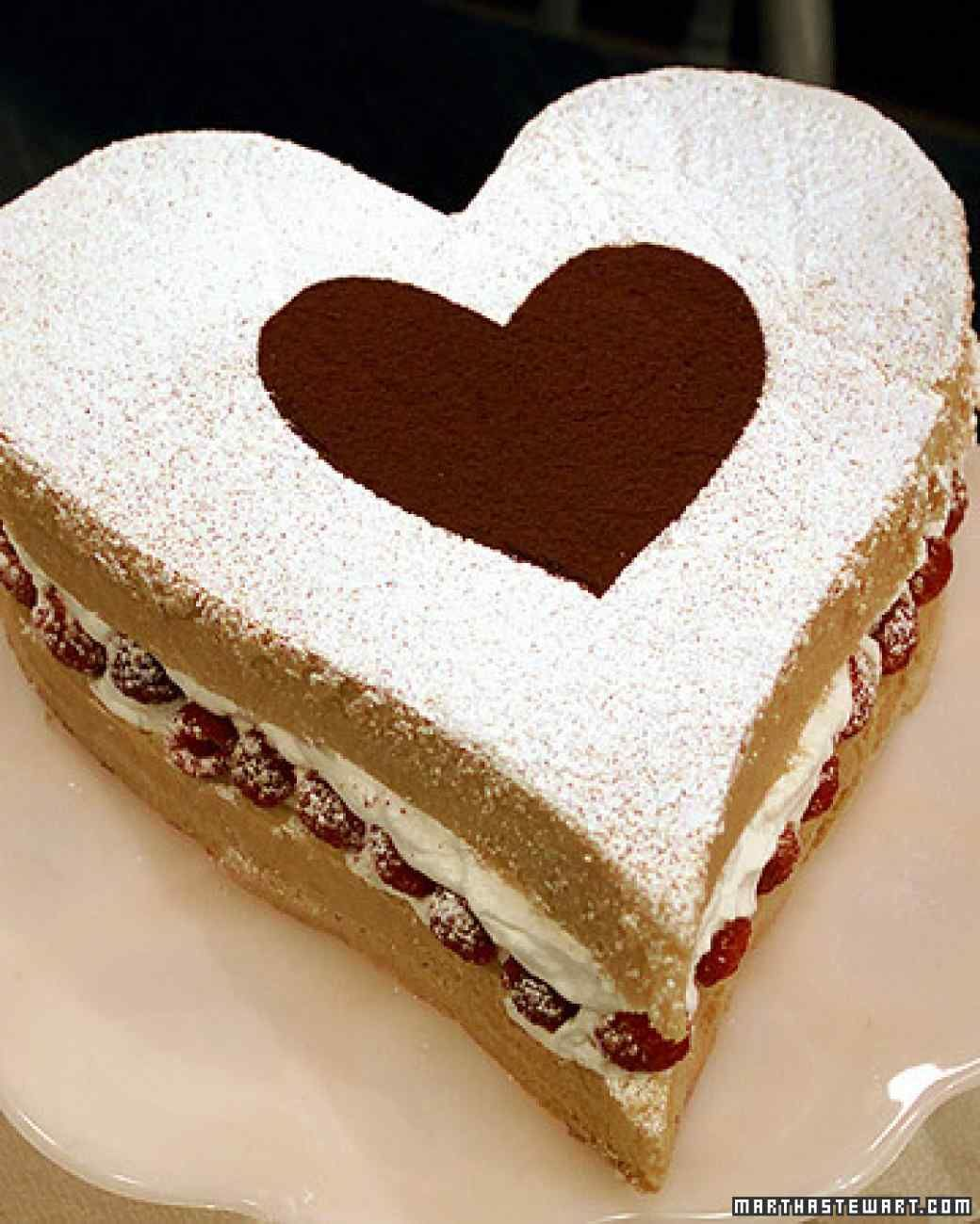 Торт в виде сердца своими руками из коржей фото