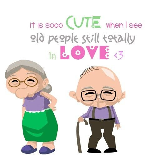 I Want To Grow Old With You Love Quotes: Old People Still Totally In Love Pictures, Photos, And