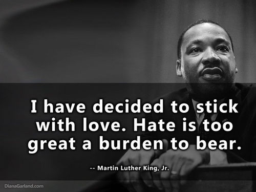 Mlk Quotes: I Have Decided To Stick With Love Pictures, Photos, And