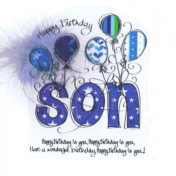 Happy Birthday To My Son Pictures, Photos, And Images For