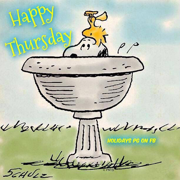Snoopy And Woodstock Happy Thursday Pictures, Photos, and