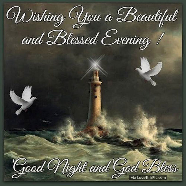 Wishing You A Beautiful Blessed Evening Pictures, Photos, and ...