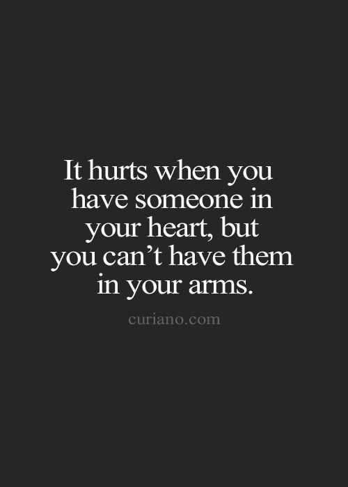 It Hurts When You Have...