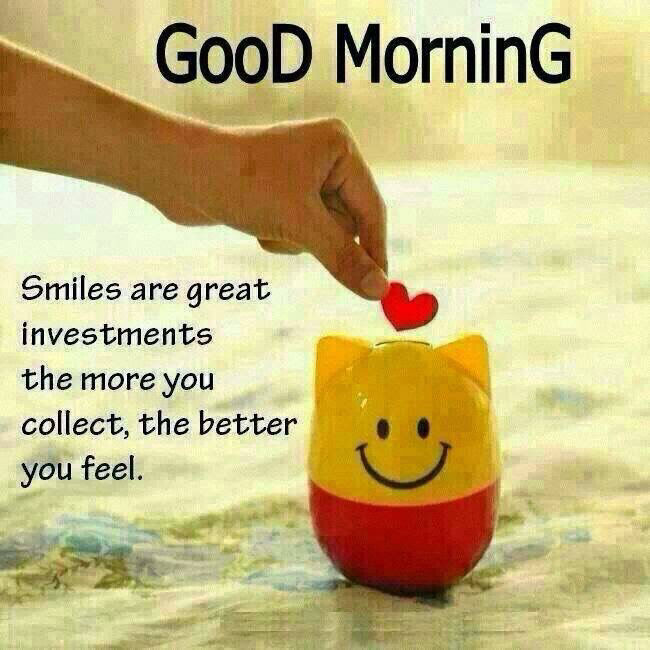 Good Morning Smiles Pictures Photos And Images For Facebook