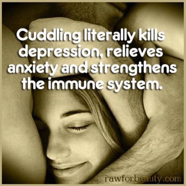I Want To Cuddle With You Quotes: Cuddling Literally Kills Depression And Relieves Stress