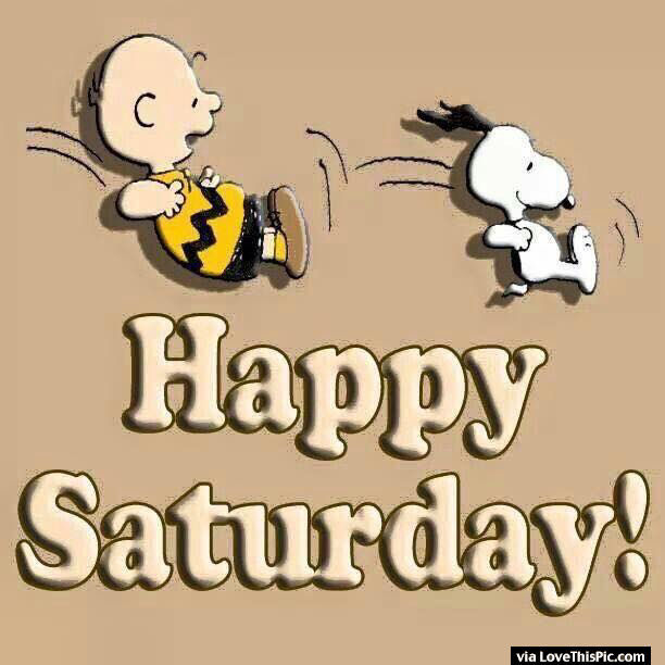Funny Happy Saturday Quotes: Snoopy And Charlie Brown Happy Saturday Quote Pictures