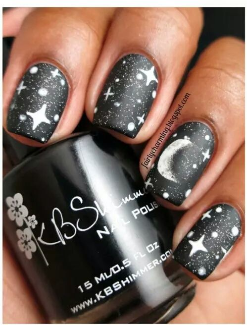 Moon And Stars Nails Pictures, Photos, and Images for Facebook ...
