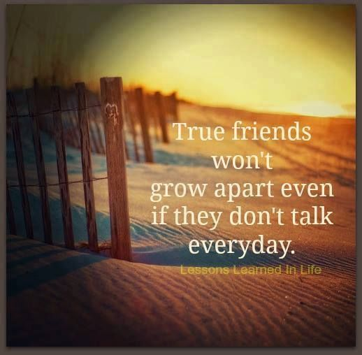 Growing Apart: True Friends Wont Grow Apart Even If They Dont Talk EVery