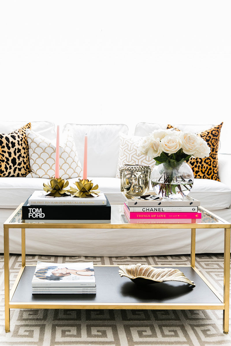 Chic Glam Living Room Pictures, Photos, and Images for ...