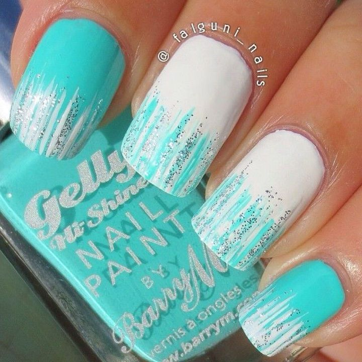 Fan brush nails pictures photos and images for facebook tumblr fan brush nails prinsesfo Image collections