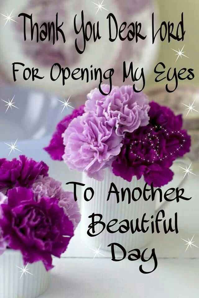 Thank You Dear Lord For Opening My Eyes To Another Beautiful Day Pictures, Photos, and Images ...