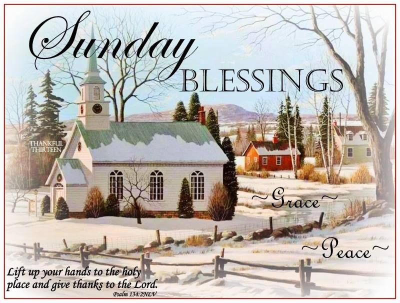 Good Morning Sunday Winter : Sunday blessings grace and peace pictures photos