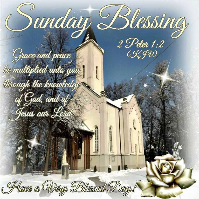 Sunday Blessings WIth A Bible Quote Pictures, Photos, And