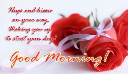 hugs and kisses good morning pictures photos and images