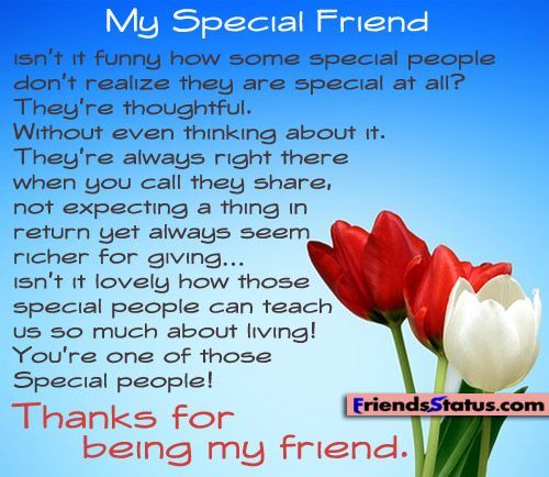My Special Friend... Pictures, Photos, and Images for ...