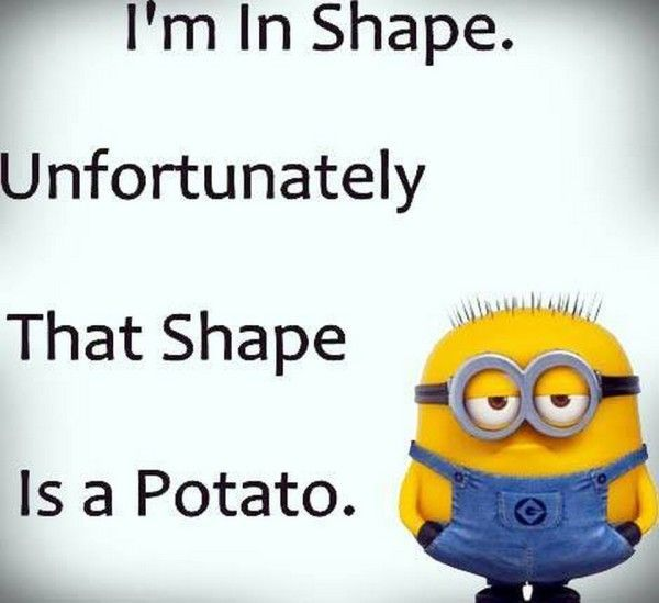 Funny Joke Quote: That Shape Is A Potato Pictures, Photos, And Images For