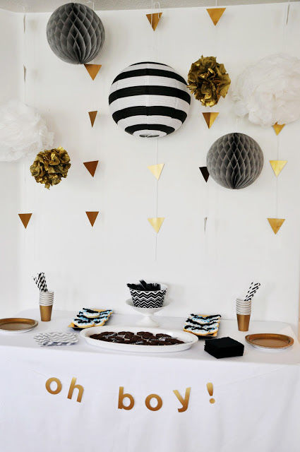 Gold And Black Baby Shower Theme Pictures Photos And Images For