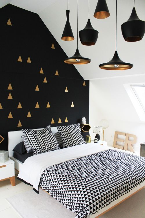 Black And Gold Bedroom Decor