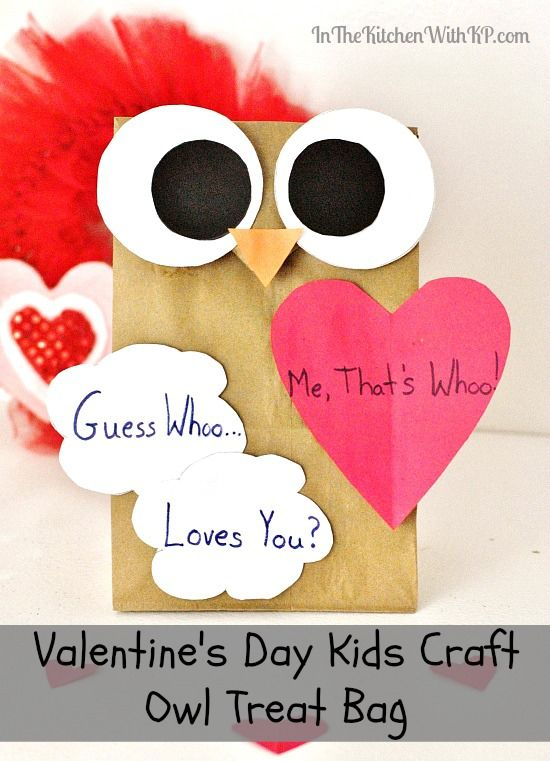 Valentines Day Kids Craft Treat Bag Pictures Photos And Images For