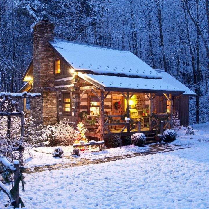 Cozy Winter Home: Winter Cabin Hideout Pictures, Photos, And Images For