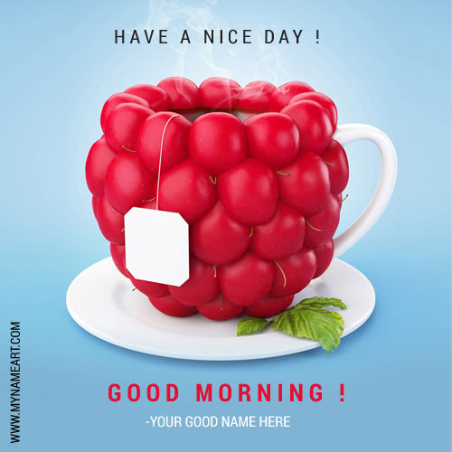 Good Morning Creative Wishes Picture With Name Pictures Photos And Images For Facebook Tumblr Pinterest And Twitter