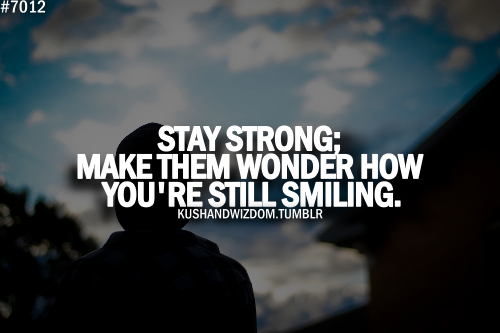 Make Them Wondering How You're Still Smiling Pictures ...