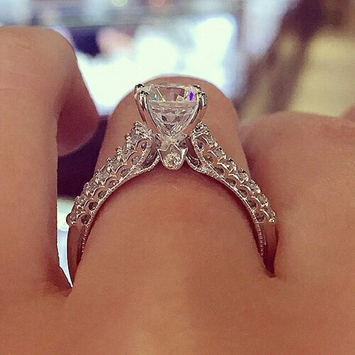 Diamond Engagement Ring Pictures Photos And Images For