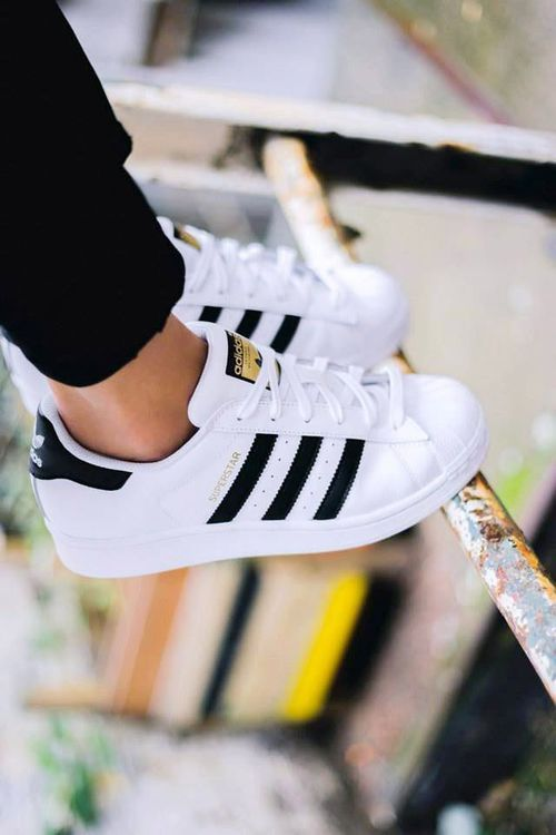 Adidas Superstar Black And White Tumblr