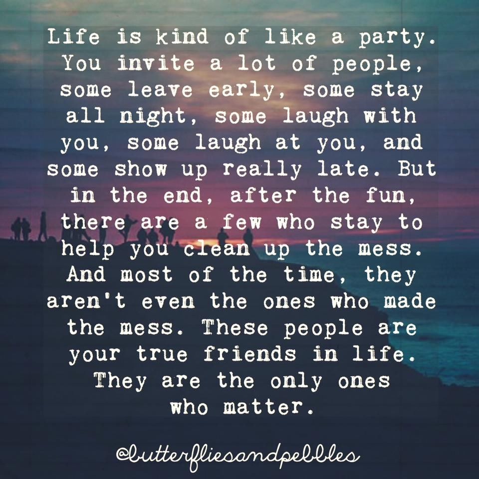 Wise Quotes About Friendship Life Is Kind Of Like A Partypictures Photos And Images For