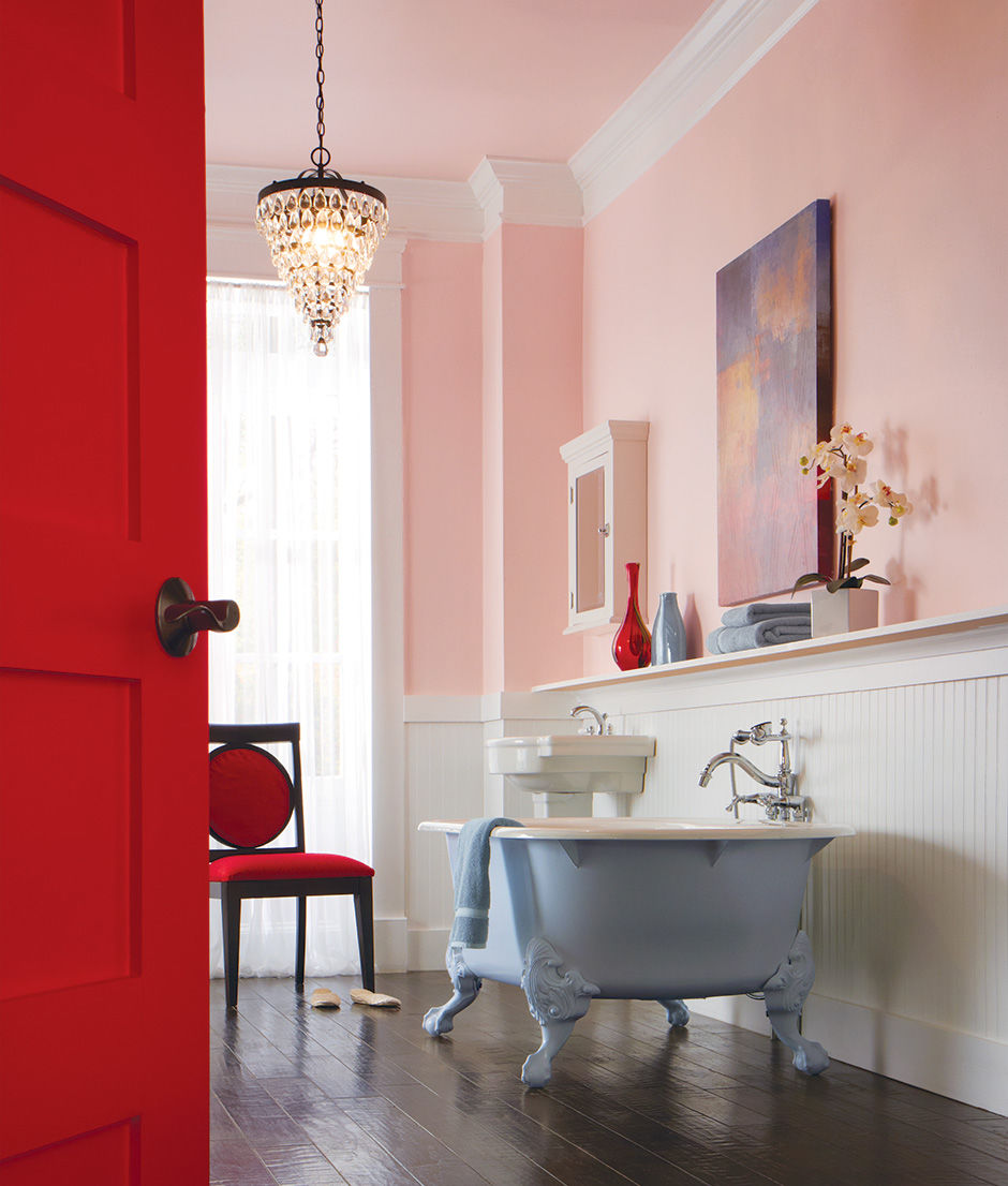 Pink Bathroom Walls Pictures, Photos, and Images for Facebook ...