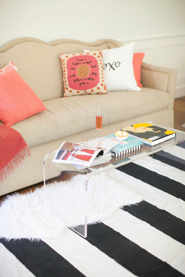 lovely striped rug living spain of black room white eclectic x design chair gary and