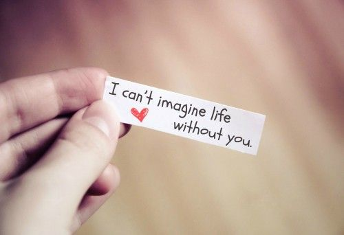 can you imagine a life without Cant imagine my life without you quotes - 1 so do you like milli vanilli as weii read more quotes and sayings about cant imagine my life without you.